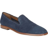 b87d5016167a Sarto by Franco Sarto Women s Fallon Loafer Navy Lux Brushed Suede