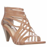 I35 Garoldd Strappy Heeled Sandals, Honey
