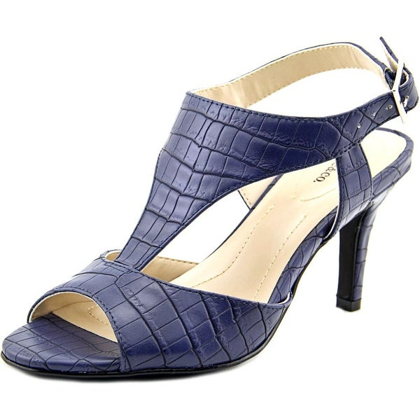 Style & Co Saharii Women Open Toe Synthetic Blue Sandals