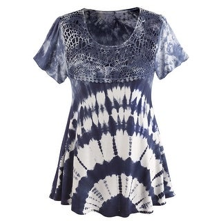 Women's Tunic Shirt - Tie Dye Haight Ashbury Top