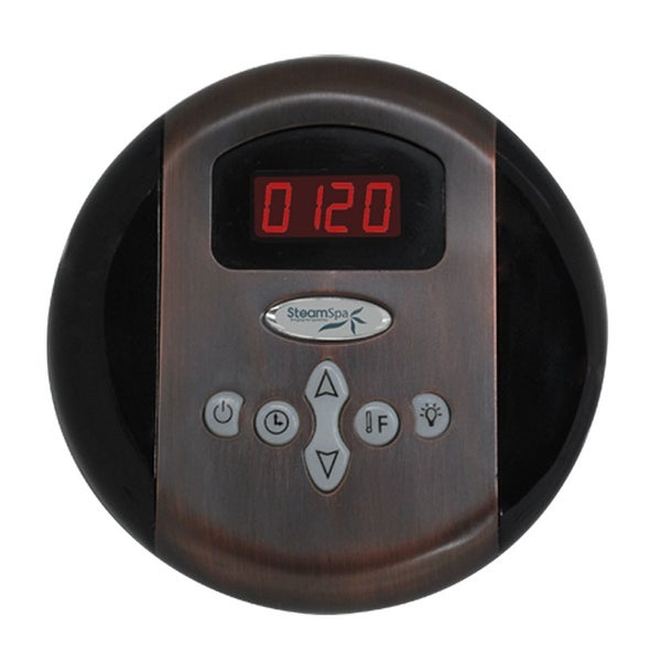 SteamSpa G-SC-200 Programmable Steam Generator Control Panel with Presets