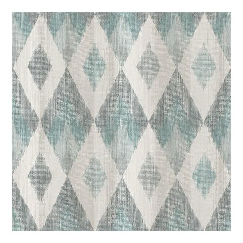 Ace Teal Diamond Wallpaper - 20.9 x 396 x 0.025