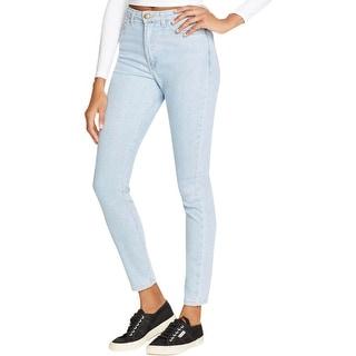 American Apparel Womens Jeans Dark Stretch