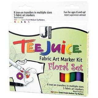 Jacquard - Tee Juice Marker & Transfer Kit - Floral