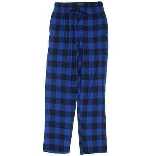 Polo Ralph Lauren Mens Pajama Bottoms Flannel Plaid - S|https://ak1.ostkcdn.com/images/products/is/images/direct/a5adcbee73e3a7e2fd91a2a6e97d4394df1538fb/Polo-Ralph-Lauren-Mens-Pajama-Bottoms-Flannel-Plaid.jpg?impolicy=medium