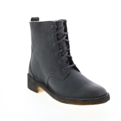 Clarks Maru Elsa Charcoal Womens Ankle & Booties Boots