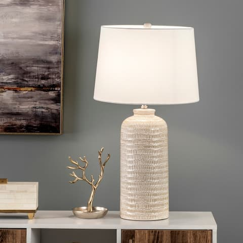 "nuLOOM Georgia 29"" Ceramic Table Lamp - 16"" W x 16"" D x 29"" H"