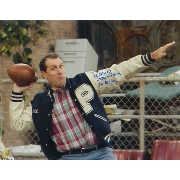 Shop Ed ONeill Married With Children Football Pose 16x20