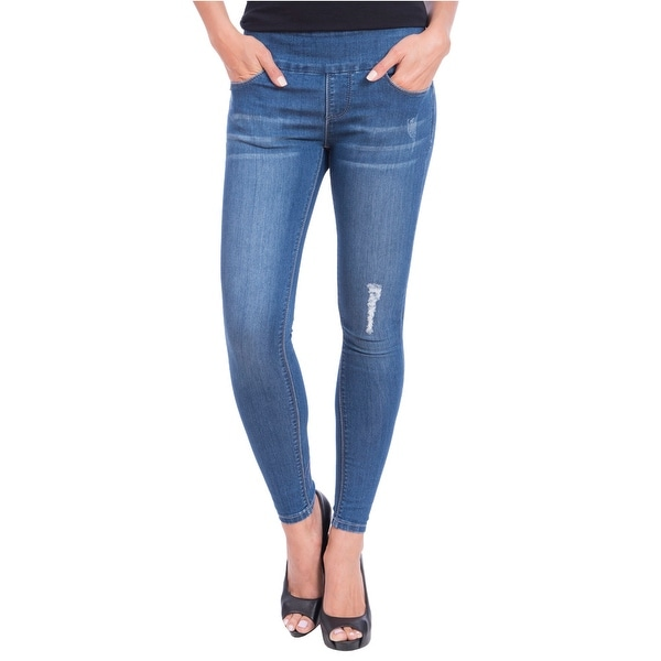 Lola Jeans Julia-DMB, Mid Rise Pull On Ankle With 4-Way Stretch