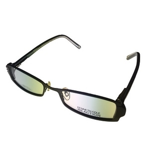 Kenneth Cole New York Mens Opthalmic Frame Black Plastic Rectangle KC688 03 - Medium