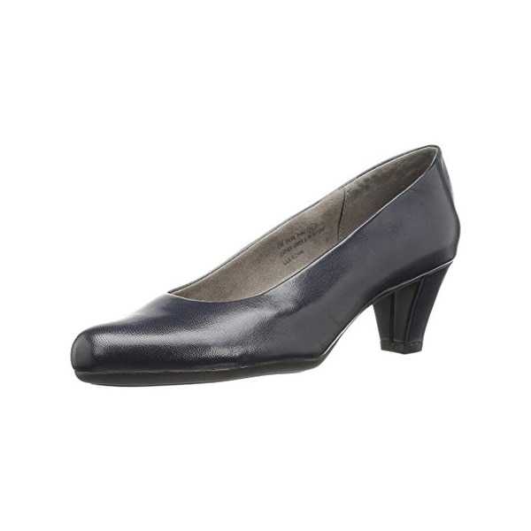Aerosoles Womens Shore Thing Pumps Solid Heel Rest