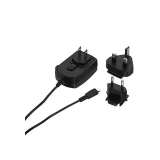 OEM Blackberry Micro USB Travel Charger with International Adapters - EU / UK /