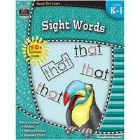Ready Set Learn Sight Words Gr K-1