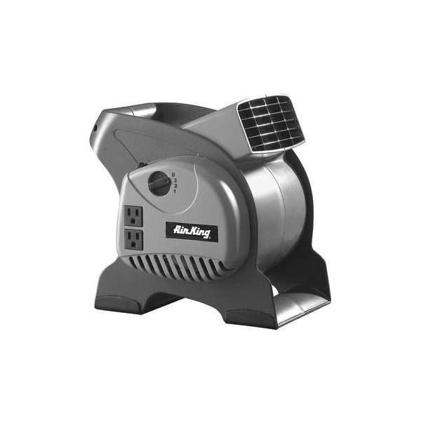 """Air King 9550 6"""" x 6"""" 325 CFM 3-Speed Commercial Grade Pivoting Blowers - na"""