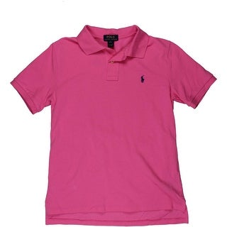 Polo Ralph Lauren Boys Pique Short Sleeves Polo Shirt