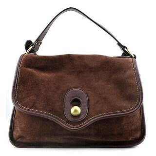 Nanette Lepore Waverly Suede Shoulder Bag - Brown