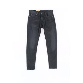 Denim & Supply Ralph Lauren NEW Black Womens 27x27 Cropped Skinny Jeans|https://ak1.ostkcdn.com/images/products/is/images/direct/a5b27029177167fc03d53d54a81835d7de031361/Denim-%26-Supply-Ralph-Lauren-NEW-Black-Womens-27x27-Cropped-Skinny-Jeans.jpg?impolicy=medium