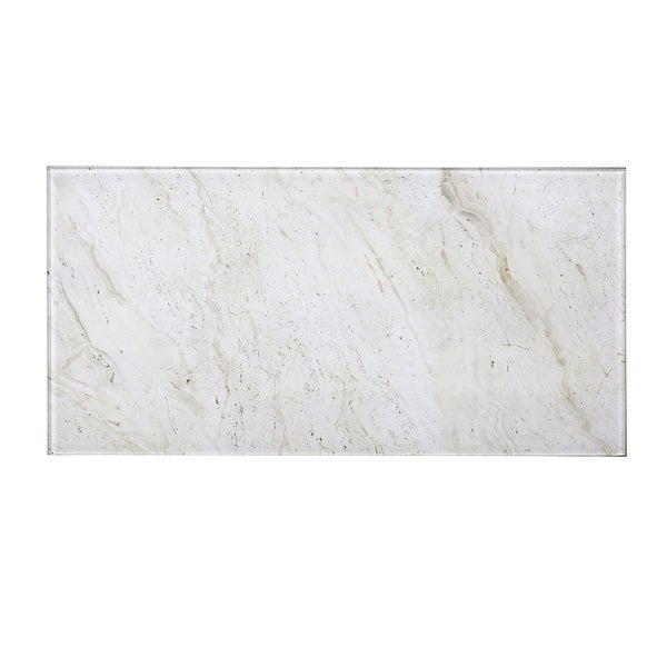 "Miseno MT-WHSWTJ0816-CM Nature - 8"" x 16"" Rectangle Wall Tile - Glossy Visual - Beige"
