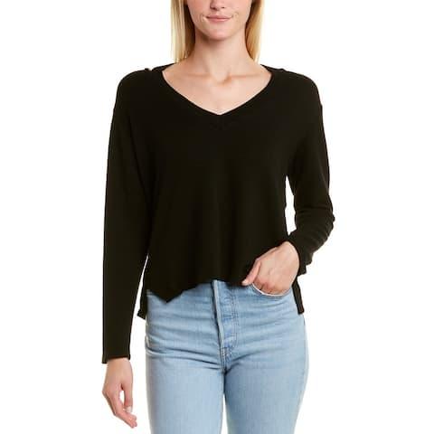 Monrow Slash Shoulder Sweater