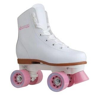 Girls Rink Skate, Size J10 - White
