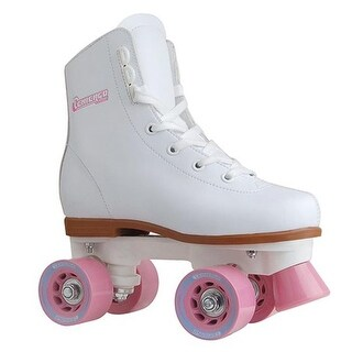 Girls Rink Skate, Size J12 - White