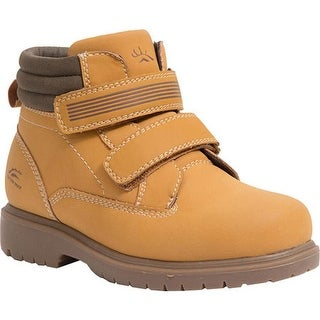 Deer Stags Boys' Marker Boot Wheat Simulated Leather