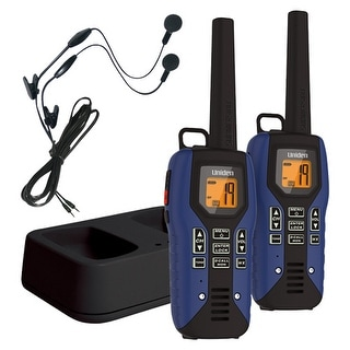Uniden GMR5095-2CKHS 50 Mile FRS/GMRS Submersible Two-Way Radio w/Direct Call - 2-pack