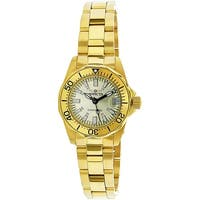 Invicta Women's Signature  Gold Stainless-Steel Diving Watch