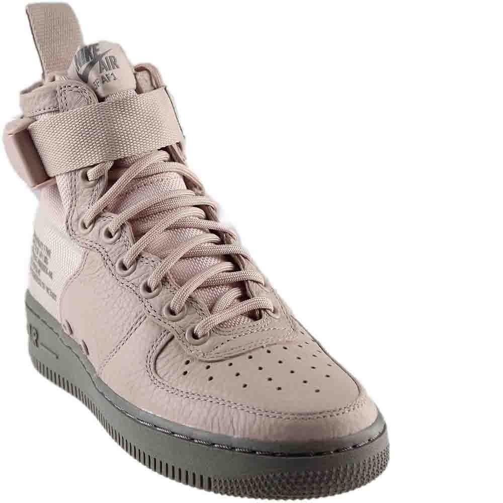 info for f5e22 9c705 Nike Womens Sf Air Force 1 Mid Baseball Athletic Shoes