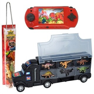 Wild Republic(R) Dino Truck & Game Set