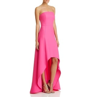 Laundry by Shelli Segal Womens Evening Dress Pinpoint Hi-Low