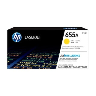 HP 655A Original LaserJet Toner Cartridge - Yellow (Single Pack) LaserJet Toner Cartridge
