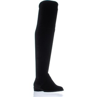 Marc Fisher Humor2 Over the Knee Boots, Black - 5 us