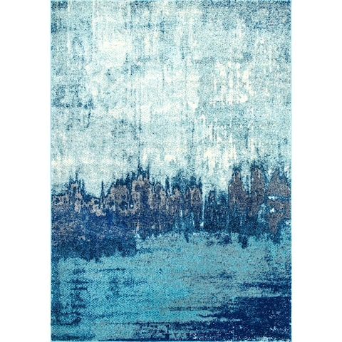 nuLOOM Contemporary Abstract Area Rug