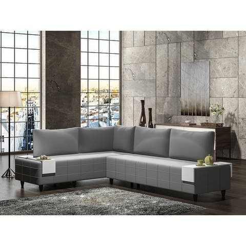 Metal Frame With Foam Seat Sectional Sofa