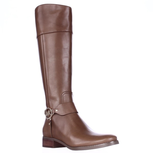 MICHAEL Michael Kors Fulton Harness Riding Boots, Luggage