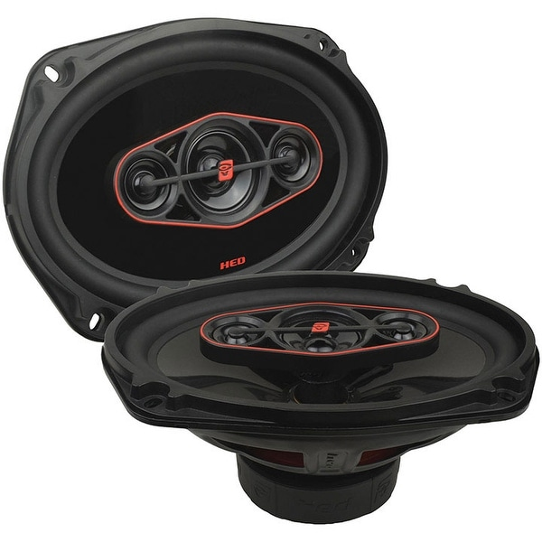 "CERWIN-VEGA MOBILE H7694 HED(R) Series 6"" x 9"" 420-Watt 4-Way Coaxial Speakers"