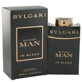 Bvlgari Man In Black by Bvlgari Eau De Parfum Spray 3.4 oz - Men