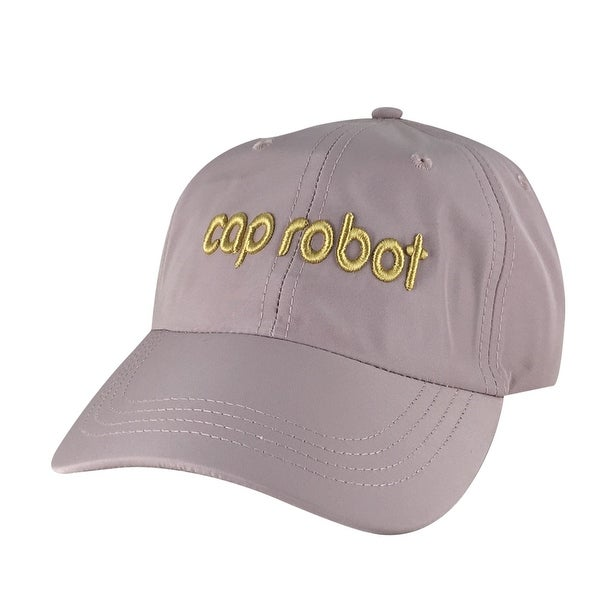 Shop CapRobot Neon Sign Nylon Gold Adjustable Hat Dad Cap - Light Pink -  Free Shipping On Orders Over  45 - Overstock.com - 17839955 6f146a53e3de