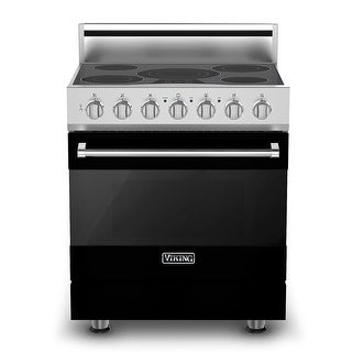 Viking RVER33015B 30 Inch Wide 4.1 Cu. Ft. Free Standing Electric Range with Vari-Speed Dual Flow Convection