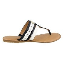 Tommy Hilfiger Womens Lady Split Toe Casual Slide Sandals