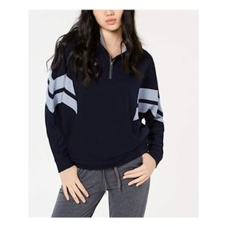 HIPPIE ROSE Womens Navy Long Sleeve Sweater  Size M