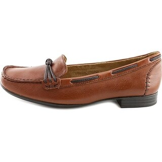 Naturalizer Womens Imagine Leather Square Toe Loafers