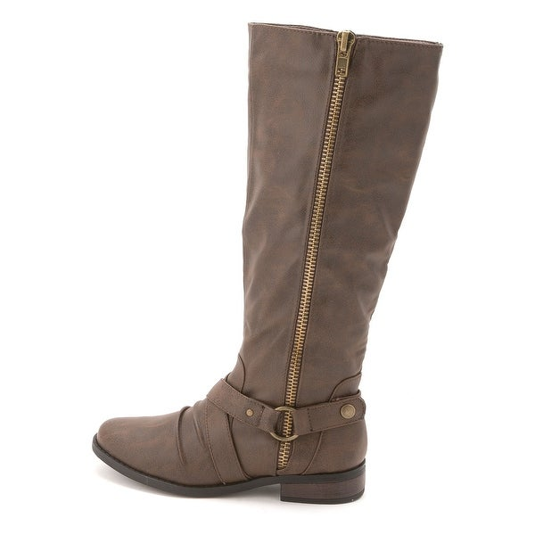 Rampage Women's Ilijah Knee High Riding Boots