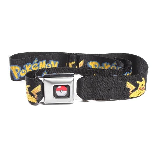Pokemon Flying Pikachu Seatbelt Belt-Holds Pants Up