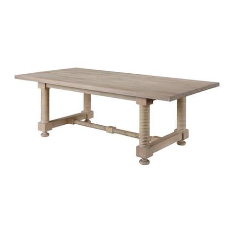 Barrister Rectangular Dining Table - 2 Cartons