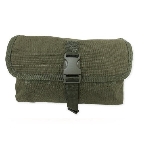 Tacprogear Olive Drab Green Gas Mask Pouch P-GSMK1-OD