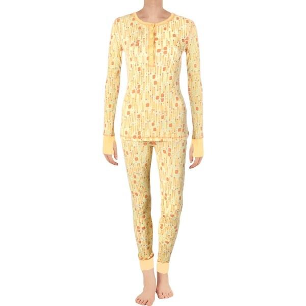 Shop Munki Munki Womens Pencils Pajama Set 2PC Knit - Free Shipping On  Orders Over  45 - Overstock - 18657217 472737cdf