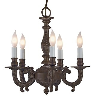 JVI Designs 905 14 inch Up Lighting Chandelier