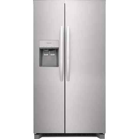 Frigidaire FRSC2333AS 22.3 Cu. Ft. 36 inch Counter Depth Side by Side Refrigerator - Stainless Steel